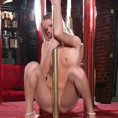 pole dance blonde